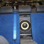 сабвуфер в подлокотник седана