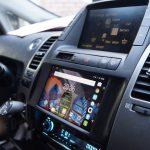 установка планшета в автомобиль с магнитолой