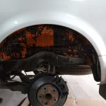 шумоизоляция арок колесных снаружи